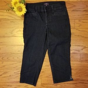 NYDJ CROPS JEANS LIFT TUCK TECHNOLOGY